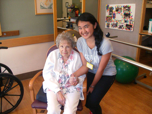 The Reutlinger provides excellent skilled nursing