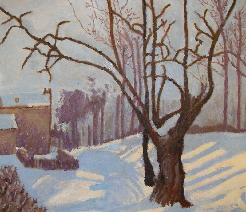 Tranquil Scene in Winter