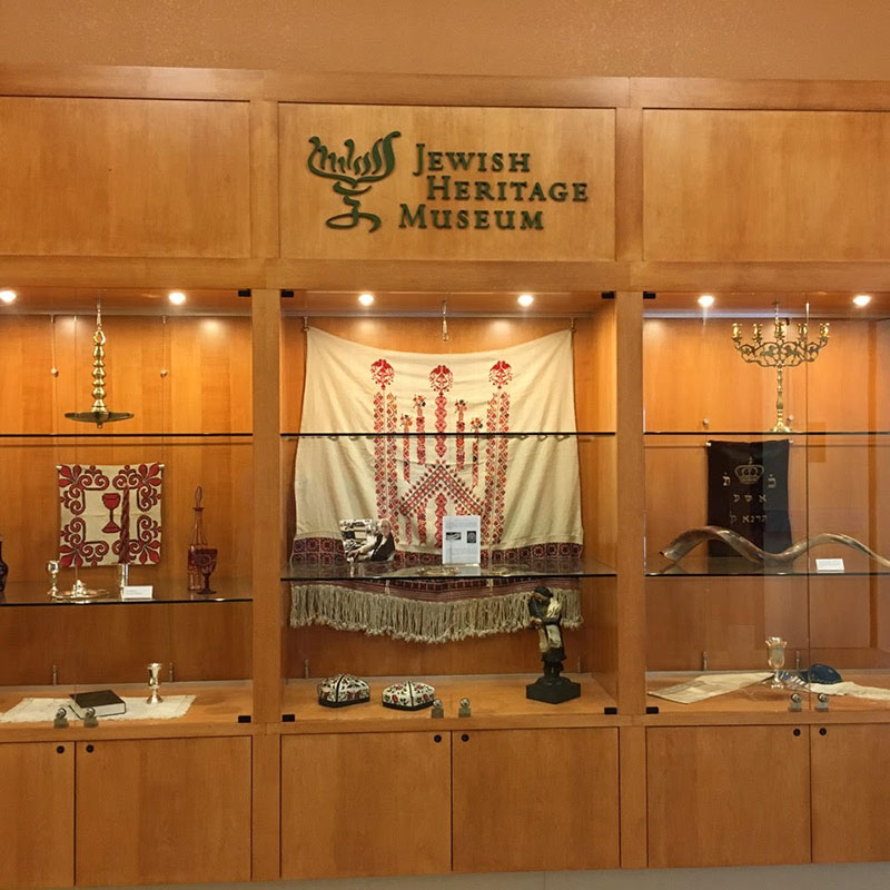 Jewish Heritage Museum showcased items